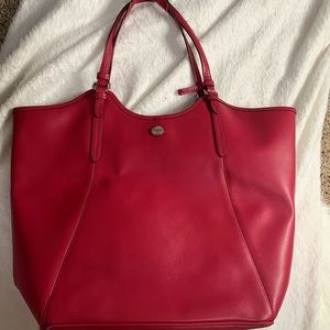 Coach hot pink tote